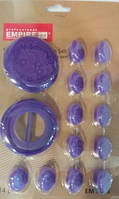 Набор штампов для декорирования капкейков Цветы