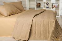 Набор Горох: постельное белье и одеяло летнее (полуторный) горчица, фото 1