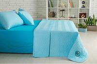 Набор Горох: постельное белье и одеяло летнее Бирюза, фото 1