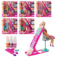 Куклы типа Барби (Barbie). Салон красоты. Набор для создания причесок