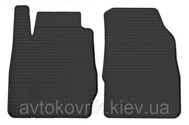 Резиновые передние коврики в салон Ford Fiesta VII 2008- (STINGRAY)