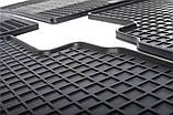Резиновые передние коврики в салон Ford Fiesta VII 2008- (STINGRAY), фото 5