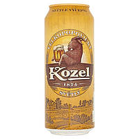 Пиво Kozel  ж/б 0,5 ml Alk 4,0% oб