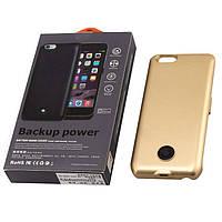 Чехол-аккумулятор X366 для iPhone 5 Gold