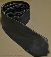 Серый (асфальт) Узкий галстук 5 см