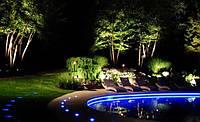 Светодизайн, декоративное ландшафтное освещение и подсветка