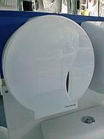 Держатель для туалетной бумаги BISK JUMBO P1 пластик, белый