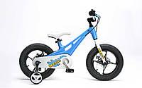 Детский велосипед RoyalBaby Mgdino 14, синий