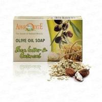 Натуральное оливковое мыло с маслом Ши и Овсянкой Aphrodite®   100 г