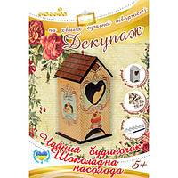 Набор для декупажа Чайный домик Шоколадное удовольствие