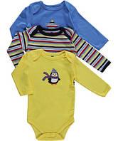 Боди для младенцев с длинным рукавом HUDSON BABY Penguin
