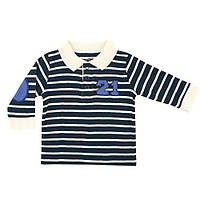 Реглан для мальчика HUDSON BABY Blue white