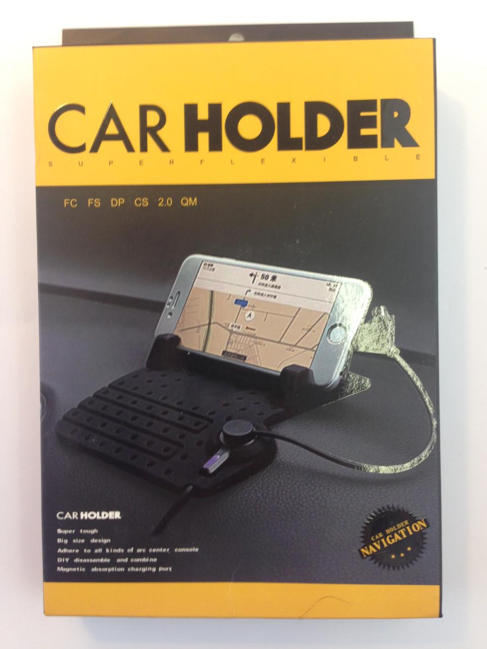 Автомобильный держатель коврик с кабелем Smart Non-Slip Mat