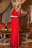 Женское нарядное платье в пол, размер 44,46,48,50, фото 2