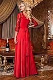 Женское нарядное платье в пол, размер 44,46,48,50, фото 4
