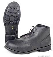 Ботинки комбинированные, гвоздь