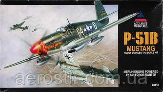 P-51B MUSTANG 1/48 Accurate Miniatures 3418