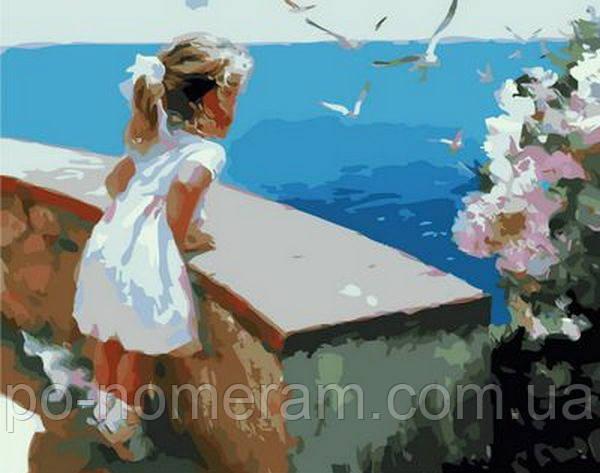 Картина по номерам Mariposa Ласковое море