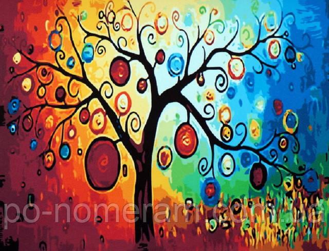 Картина по номерам Идейка Денежное дерево
