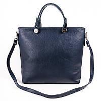 Женская классическая сумка синяя