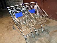 Тележки покупательские Wanzi бу, торговые тележки бу, тележки бу.
