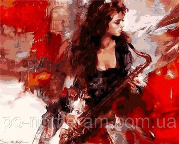 Картина по номерам Mariposa Музыка страсти