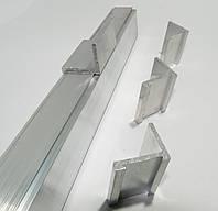 Уголки крепления усиленной рейки 4 шт