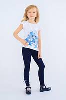 Детские лосины леггинсы для девочек (Синий)