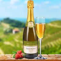 Земляничное игристое вино Fragolino Fiorelli Bianco 0.75l