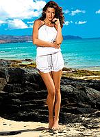 Парео-комплект с шортами Leila Marko S, белый
