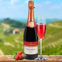 Земляничное игристое вино Fragolino Fiorelli Rosso 0.75l