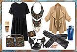 Шкіряна сумочка з амонітами і лазуритом, фото 3