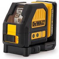 Самовыравнивающийся 2-х плоскостной лазер DeWalt DCE088D1R