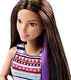 Набір Барбі Блискучі зачіски брюнетка, фото 5