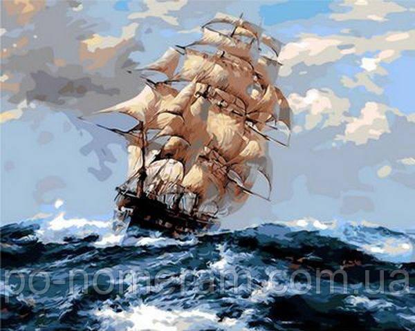 Живопись по номерам Mariposa На всех парусах