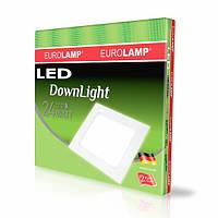 EUROLAMP LED Светильник квадратный DownLight 24W 4000K