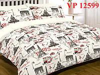 Постельное белье, двухспальное, ранфорс, Вилюта (VILUTA) VР 12599