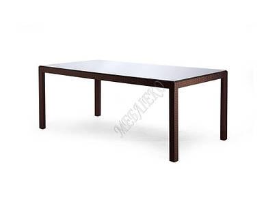 Искусственный ротанг мебель, Стол Галант