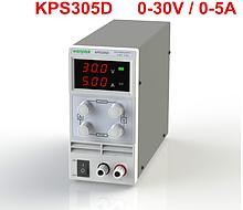 Регульований лабораторний блок живлення Wanptek KPS305D на 30V 5A