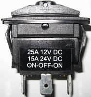 Выключатель трехпозиционный (ON-OFF-ON) без индикации - TMC-03.98.04.30