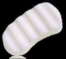 Kohjac Big Body Buffer Sponge-100%Pure (White) - Спонж для ванны экстра-большой (без добавок)