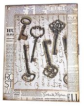 Ключница декупаж Ключи