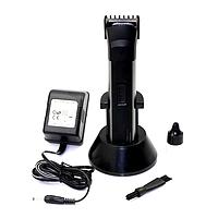 Машинка для бороды Gemei GM 2599: регулируемая насадка, подставка для зарядки аккумулятора, 3 Вт