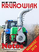 Опрыскиватель навесной Notos 1000 до 47 м. (для кукурузы) Krukowiak (Польша)