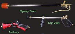 Опрыскиватель тачечный MIKRUS 80 л (электропривод, пистолет Spray Gun, шланг 6 м, насос МС 20) Krukowiak