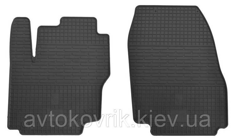 Резиновые передние коврики в салон Ford Mondeo V 2013-2014 (STINGRAY)