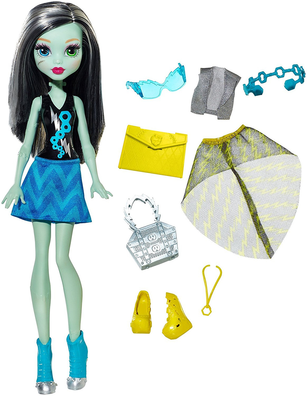 Френки Штайн Модницы, Monster High Day-To-Night Fashions Frankie Stein , фото 1