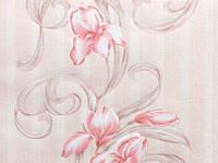 Обои дуплекс Шарлотта 64,4 8052-02 розовые (остаток 3 рулона)