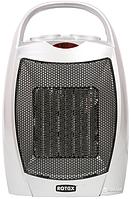 Компактный тепловентилятор с керамическим нагревателем Rotex RAP 09-H, 1500 Вт, 3 режима