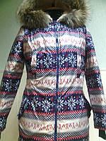 Куртка на овчине СНЕЖИНКА